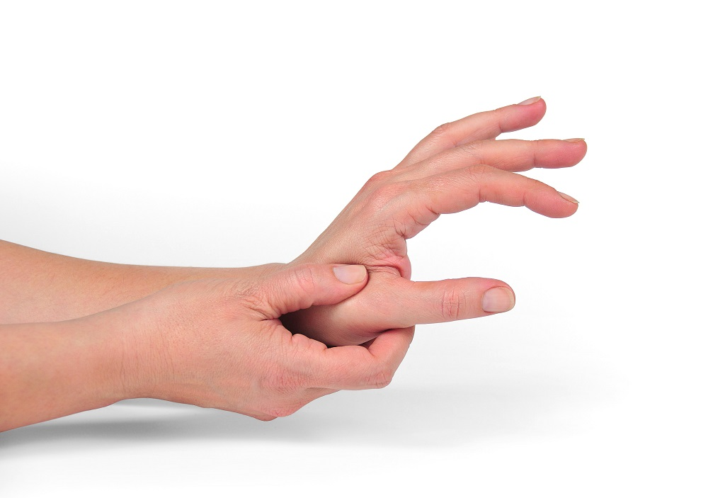 Arthrosis of thumb and finger joints
