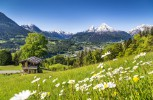 Альпы. Захватывающие экскурсии в Альпы возможны как и из Баварии, так и из Австрии или Швейцарии. Здесь каждый найдёт что-то интересное для себя. К тому же, регион известен своими кулинарными деликатесами.
