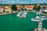 Бодензее. Самое большое озеро Германии и Швейцарии. Регион Бодензее предлагает лучшие погодные условия во всей Германии. Город Констанц и множество небольших деревень стоят того, чтобы задержаться в них на пару дней.