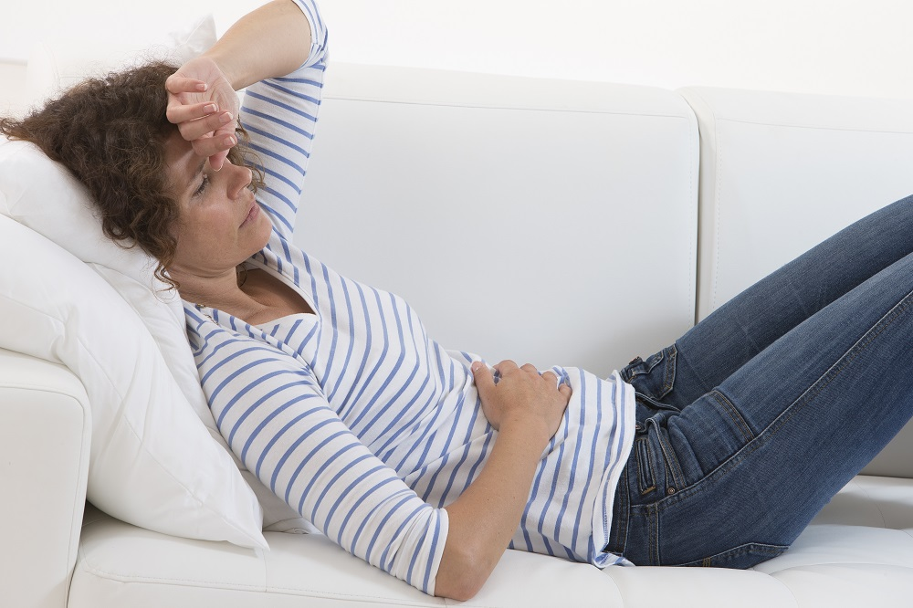 Duodenal ulcer can be painful