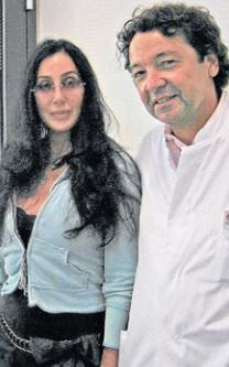 Cher and Dr. Pfützenreuter