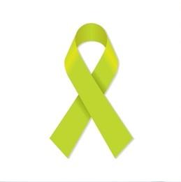 Символом заболевания является лента зелёного цвета. Всемирный день лимфомы отмечается 15 сентября.