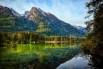 Озеро Хинтерзе в курортном регионе Берхтесгаденер-Ланд