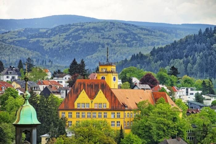 Курортный город Баден-Баден