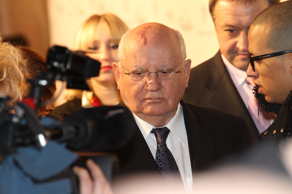 Michail Gorbaschov wurde in München behandelt