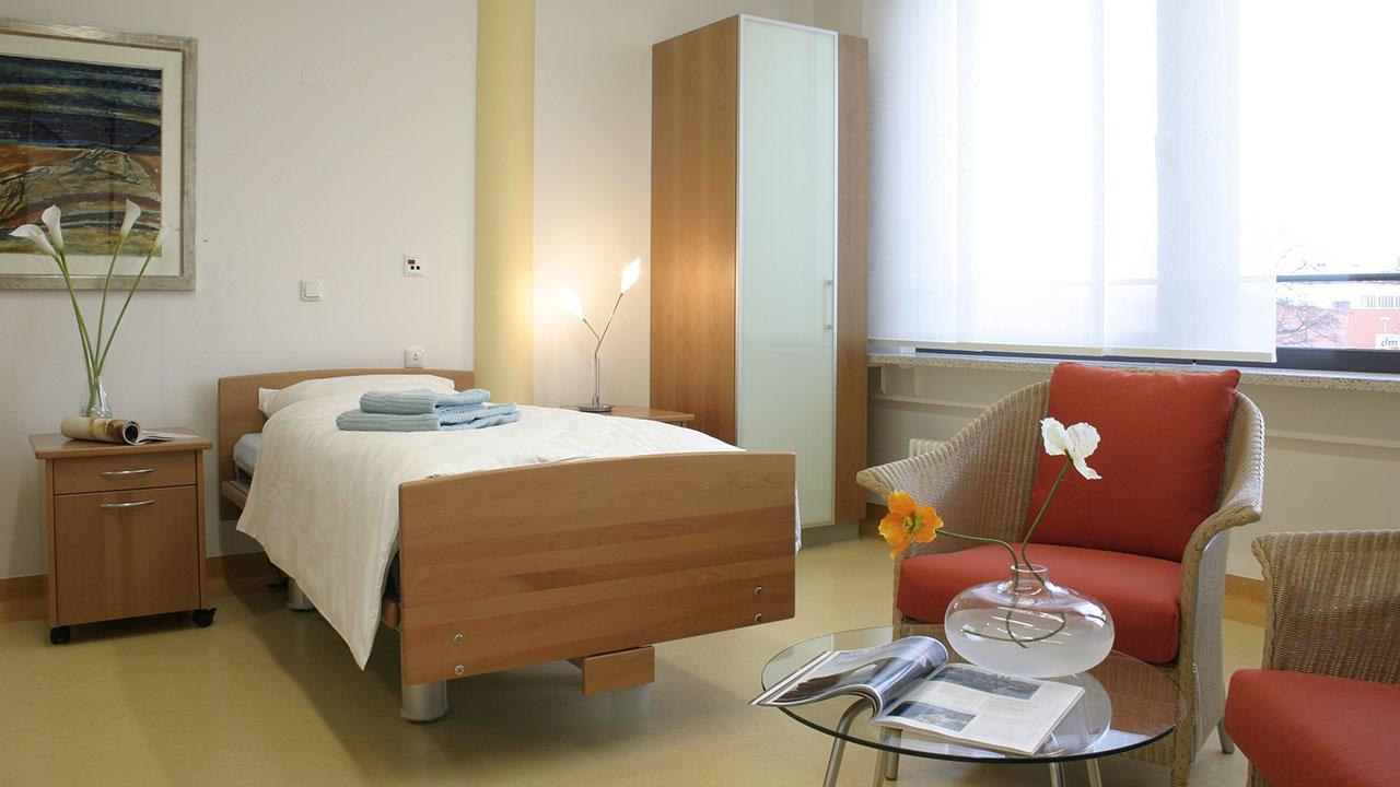 В палатах клиники Вас окружают комфорт и уют.