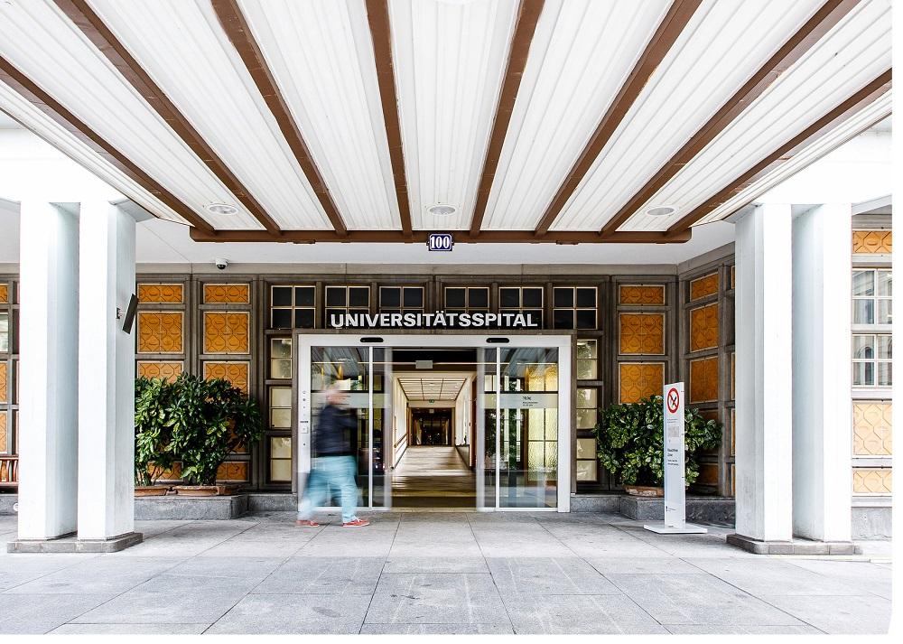 University Hospital Zurich  - entrance