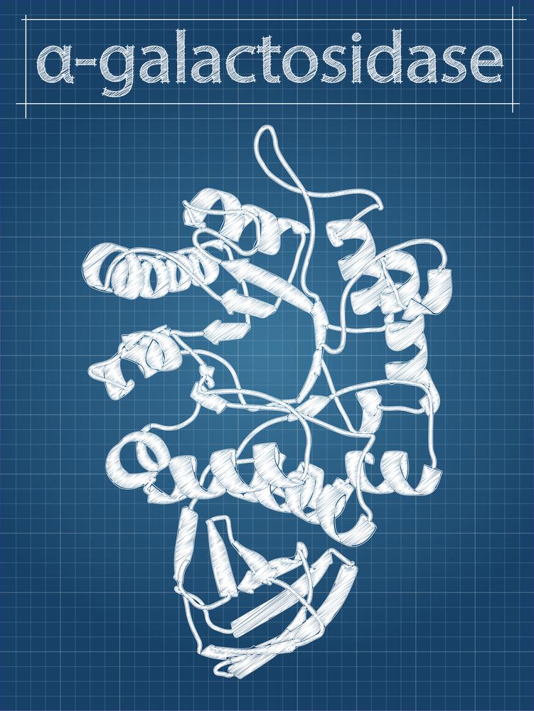 альфа-галактозидаза