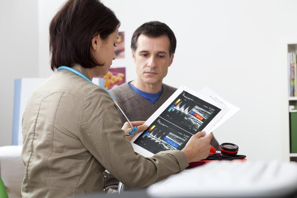 Angiografie hilft bei der Diagnosestellung.