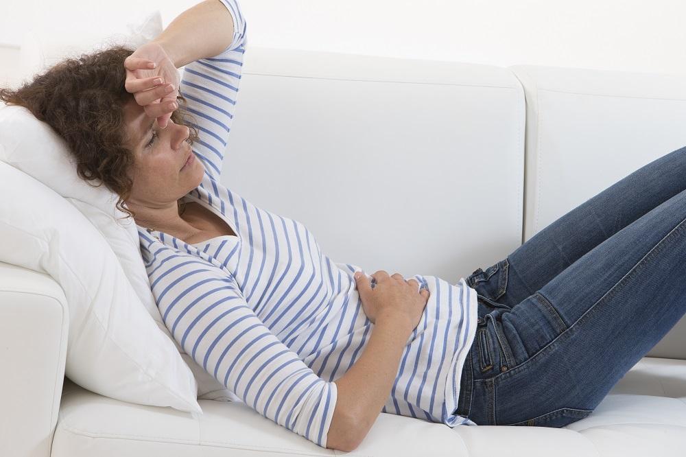 Язва двенадцатиперстной кишки может быть очень болезненной.
