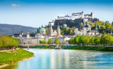 Salzburg was already founded in 696 as bishop's see on the ruins of an ancient Roman city, and is the birth place of Wolfgang Amadeus Mozart. The picturesque old town and the Hohensalzburg Castle have been UNESCO World Heritage sites since 1996.