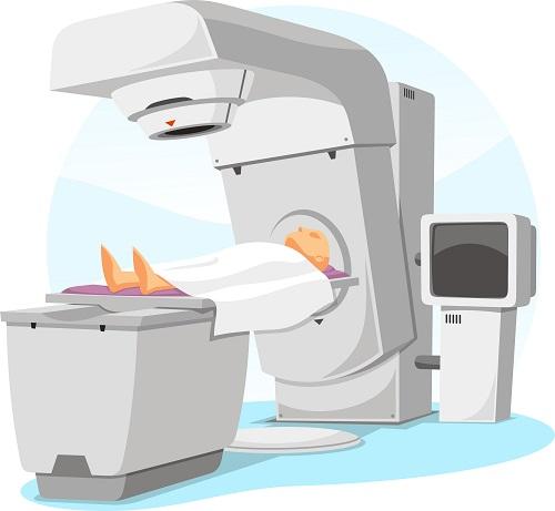 Сеанс радиотерапии