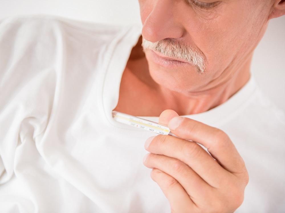 Лихорадка является одним из симптомов.
