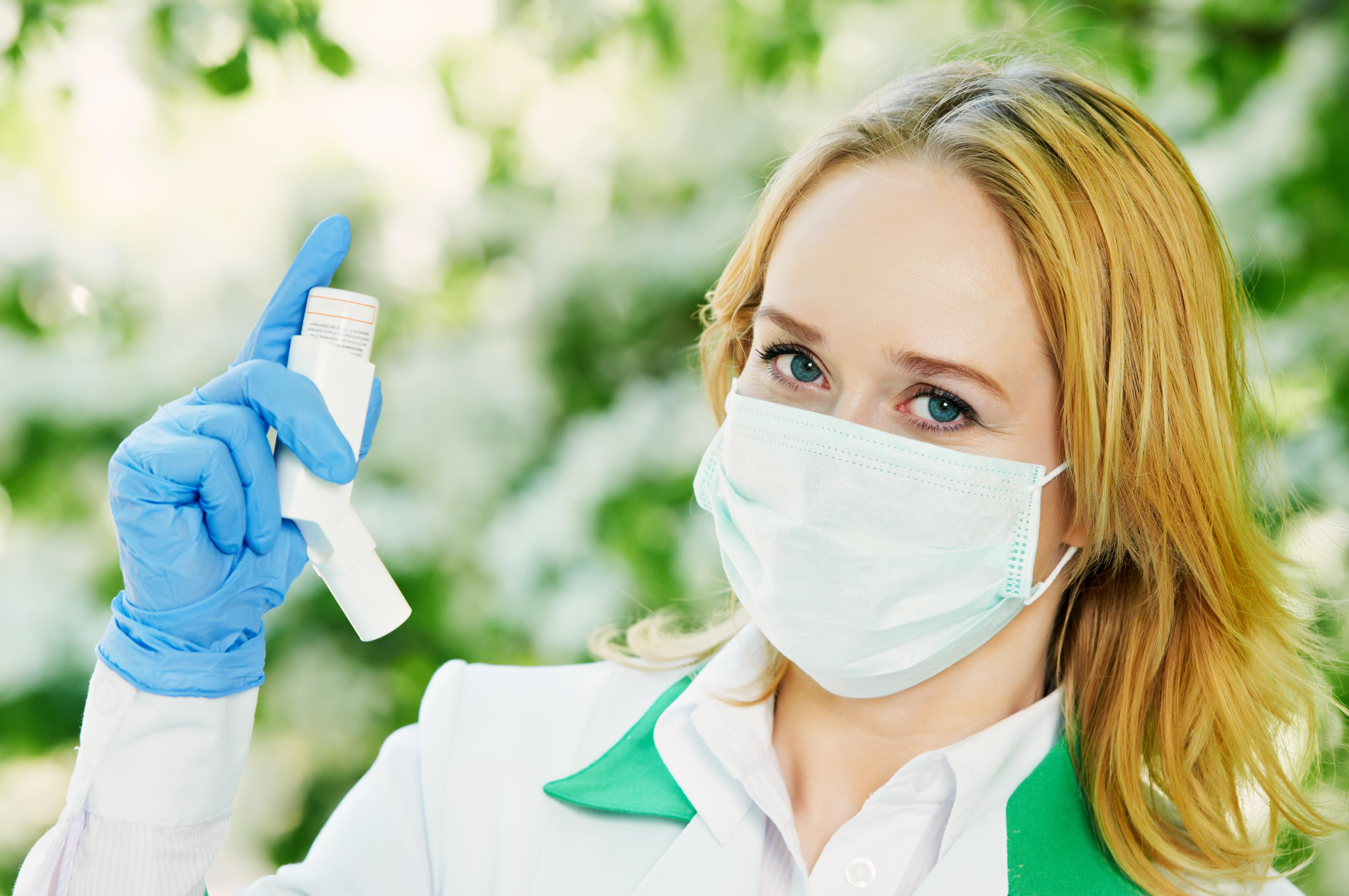 Inhaler spray may open up the airways
