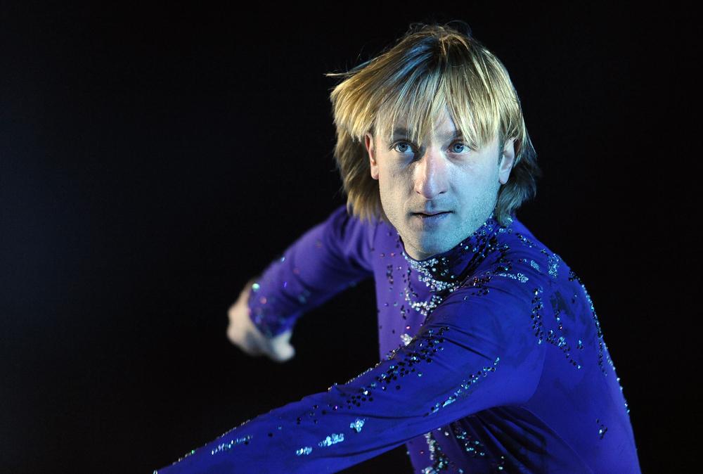 Russischer Eiskunstläufer Jewgeni Pluschenko